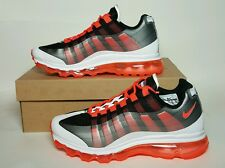 NIKE MEN AIR MAX 95 (+) BB NEW/BOX MULTIPLE SIZES BLACK/CRIMSON/GREY  511307 069