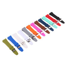 New Fashion arrivals 12mm 17mm 19mm Silicon Rubber watchband Wristwatch strap