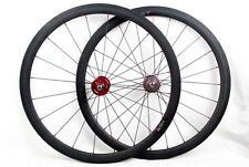 carbon fixed gear single speed road wheel 20.5 mm width Clincher track hub.700C