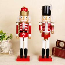 Christmas Walnut Soldiers Wooden Nutcracker Soldiers  Xmas Decoration Ornaments