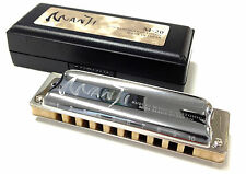 New! SUZUKI M-20 MANJI Harmonica Major 10-Hole Various Key from Japan