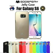 Genuine MERCURY Goospery Soft Jelly Skin Case Cover For Samsung Galaxy S6