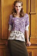 NEW Anthropologie Augden Crocheted Hydrangea Pullover Size XS S