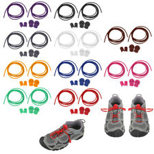 New Elastic Shoe Laces Run Running Sport Lock Toggle Triathlon Lace - 10 Colors