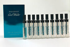 Cool Water by Davidoff EDT 0.03 oz/ 1ML Sample Vial - Choose Quantity -