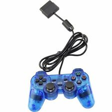 CHEAP XMAS Blue Twin Shock Game Controller Joypad Pad for Sony PS2 Playstation 2
