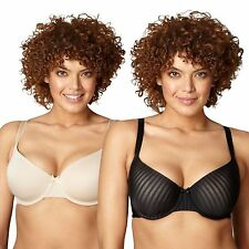 Gorgeous Dd+ Pack Of Two Natural And Black D-G T-Shirt Bras From Debenhams