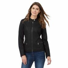 Rjr.John Rocha Womens Black Quilted Jacket From Debenhams