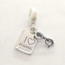 Genuine Authentic S925 Silver Love Reading Charm