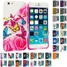 For Apple iPhone 6 (4.7) TPU Design Silicone Soft Rubber Case Cover Skin