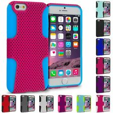 For Apple iPhone 6S (4.7) Hybrid Mesh Shockproof Skin Case Cover Accessory
