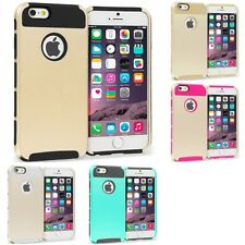 For Apple iPhone 6S Plus 5.5 Hybrid Rugged Armor Shockproof Hard TPU Case Cover