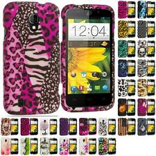 For ZTE Majesty Z796c Hard Design Snap-On Matte Case Cover Accessory