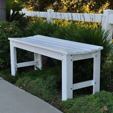 Shine Company Belfort Backless Garden Bench. Shipping is Free