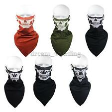 Skull Bicycle Cycling Bike Neck Scarf Face Mask Veil Bandana Outdoor Sports Fish
