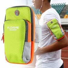 Running Arm Band Bag Pouch For i Phone 7/ 6S Zipper Multi-Layer Sport GYM Cover