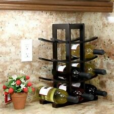 Oceanstar Design Bamboo 12 Bottle Tabletop Wine Rack. Shipping Included