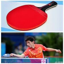 Rubber Training Table Tennis Racket Bat Ping Pong Paddle With Bag Carbon Fiber