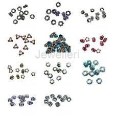 10Pcs/Lot Crystal Drop Oil Charm Pendant Beads Pendant for DIY Jewelry Findings
