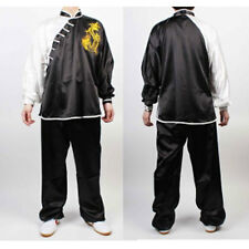 Tai Chi Chuan Uniforms Kung Fu Black  Dragon Wushu TaiChi KungFu uniform suit