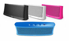 iLuv WaveCast Slim and Compact Portable Bluetooth Wireless Stereo Speaker, NEW.
