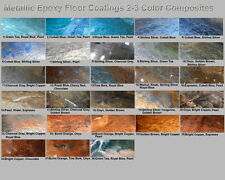 Metallic Mica Epoxy Concrete Garage Floor Countertop Paint Coating Pigment Kit