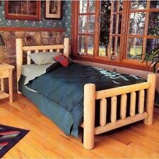 Rustic Natural Cedar Furniture Wheatfields Bed. Delivery is Free