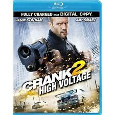 Crank 2 High Voltage (Blu-ray Disc, 2009) Fully Charged with Digital Copy