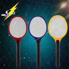 Electric Practical Insect Pest Bug Fly Mosquito Zapper Swatter Killer Racket BU