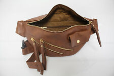 DiFranzo Faux Leather Fanny Pack, Fashion Waist Bag, NEW