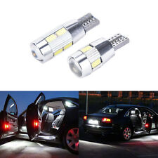 T10 501 W5WCar Side Light Bulbs Error Free Canbus 6 & 10SMD LED XENON HID WhiteB
