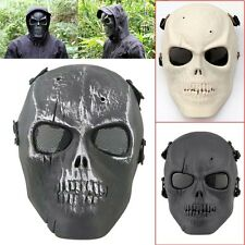 Tactical Skull Skeleton Full Face Mask Hunting Tactical Military Costume Hunting