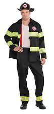 Mens Rescue Me Fireman Firefighter Emergency Services Fancy Dress Costume Outfit
