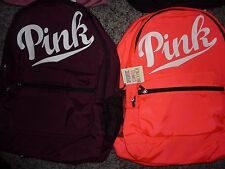 VICTORIAS SECRET PINK NEWEST FULL SIZE 2016 LARGE BACKPACK ZIP BOOK LAPTOP NWT
