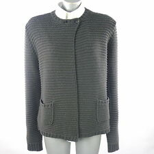 Le Tricot Perugia Cardigan Ladies Grey (previously