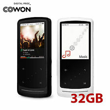 """COWON iAUDIO 9 Plus LCD Touch 2"""" 320x240 MP3 Digital Media Player 32GB 2 Colors"""