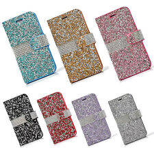Crystal 3D Bling Diamonds leather wallet flip Case Cover Skin for iPhone 6/7Plus