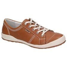 "Josef Seibel Shoes ""Caspian"" 75650-51 Leather Trainers, Brown (Natural)"