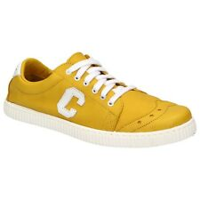 Chipie Saville Ladies Shoes Leather Sneakers Leisure Slip On Lace-up Yellow