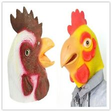 2017 New Style Chicken Latex Halloween Christmas Mask Animal Head Party Mask