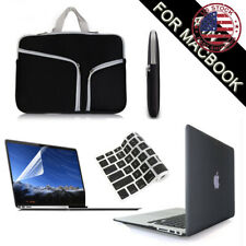 "Black Hard Case+Keyboard/LCD Cover+Carry Bag for Macbook Pro/Air 11 13 15"" Inch"