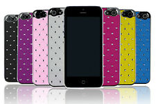 Luxury Stars Bling Crystal Diamond Chrome Frame Hard Case Cover for iPhone 5 5S