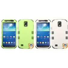 For Samsung Galaxy S4 Active i537 Hybrid TUFF IMPACT Phone Case Hard Cover