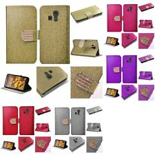For Kyocera Hydro Icon / Hydro Life Wallet Design Case With ID Card Pocket Slots