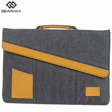 Gearmax Laptop Briefcase 13.3 Slim Magnet Notebook Cover Nylon Tablet Case