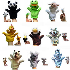 Hottest Cute Baby Child Zoo Farm Animal Hand Glove Puppet Finger Sack Plush Toy