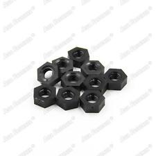 20 / 50 /100pcs M3 M4 Black Plastic Nylon Hexagon Nuts Hex Nuts for Nylon Screws
