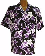 Bright Hibiscus Hawaiian Aloha Shirt