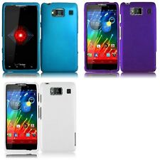 For Motorola Droid Razr HD XT926 Rubberized Matte Snap-On Hard Case Phone Cover