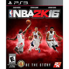 NEW NBA 2K16 (Sony PlayStation 3, 2015)